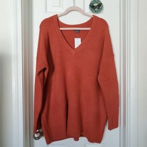 French Connection Oversized V-neck sweater
